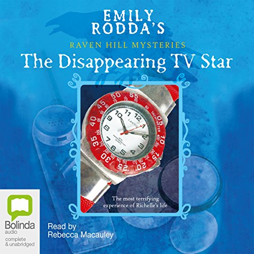 The Disappearing TV Star  audiobook cover art