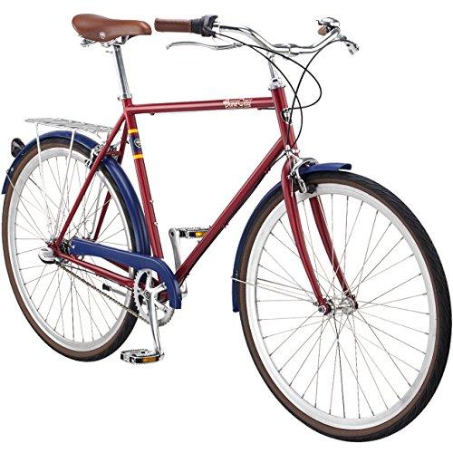 Pure City Classic Diamond Frame 3-Speed Bicycle,...