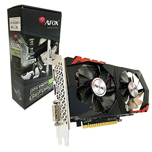 Placa de Vídeo AFOX GeForce, GTX 1050 TI 4GB GDDR5 128 Bits, AF1050TI4096D5H2