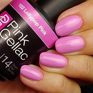 Rosa gellac # 102Lolly Pop De Rosa Soak Off UV/LED Gel polish (15ml/0.5FL oz) by Rosa gellac