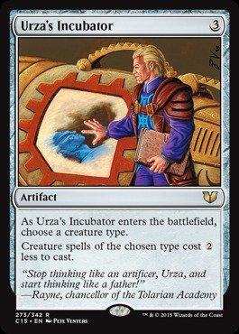 Magic The Gathering - Urza39;s Incubator (273/342) - Commander 2015