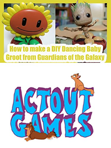 How to make a DIY Dancing Baby Groot from Guardians of the Galaxy