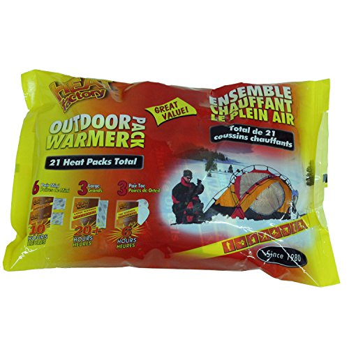 Heat Factory Combo Pack Warmers - 21 Pks