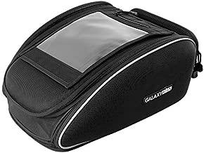 Motorcycle Tank Bag,Galaxyman Multifunctional Sport Seat Tail Bag Waterproof with Strong Magnetic Motorbike Bag for Honda Yamaha Suzuki Kawasaki Harley,18L