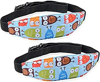 Luckyiren 2 Pack Baby Head Support for Car Seat-Car Seat Head Support for Toddler-Car Pillow-Child Car Seat Head Support-S...