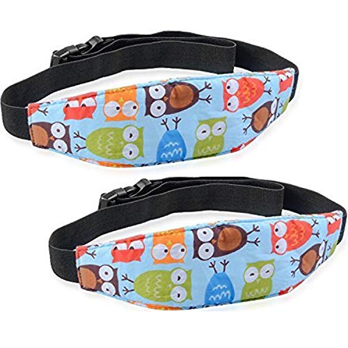 Baby Head Support for Car Seat-Car Seat Head Support for Toddler-Head Band Strap Headrest, Stroller Carseat Sleeping Baby Carseat Head Support for Toddler Kids Children Child Infant