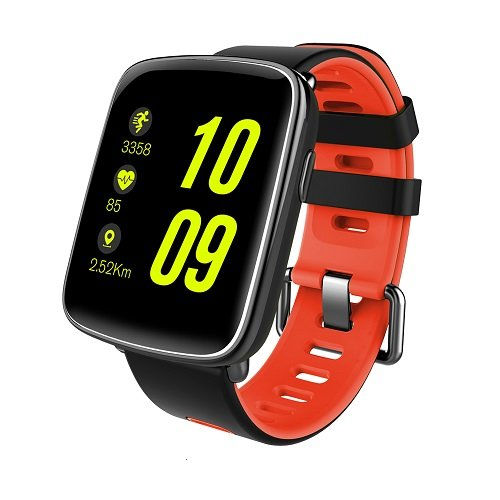 SmartWatch GV68 Waterproof IP68 Bluetooth compatible Android y iOS red