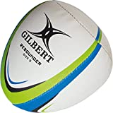 Gilbert - Balón de Rebote para Entrenamiento, Color Blanco, Azul y Verde