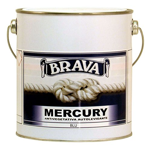 Brava Mercury Antivegetativa, Blu, 2500 ml