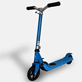 TX - Trottinette électrique pour Enfant - Trottinette légère maniable avec Cadre Pliable - Bleue (TX-KS-02-BLU)