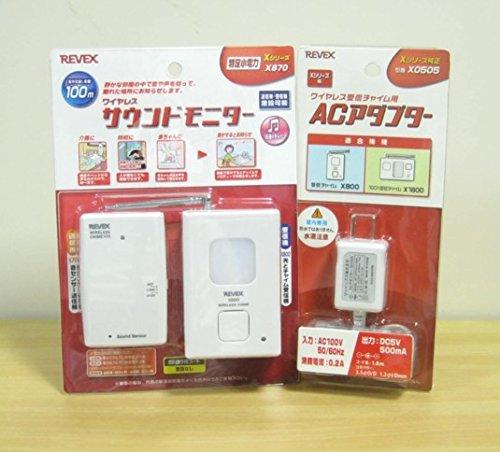 ACアダプター付!特定省電力ワイヤレスサウンドモニター・X870-0505