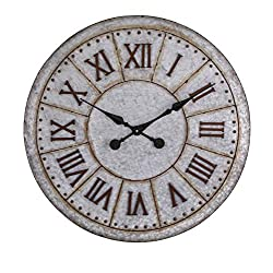 Imax 74225 Gilbert Galvanized Clock
