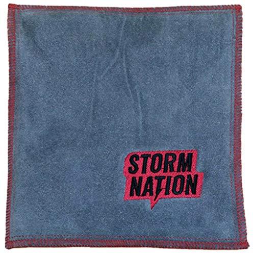 Storm STAC901RD Bowling-Handtuch, Rot/Grau