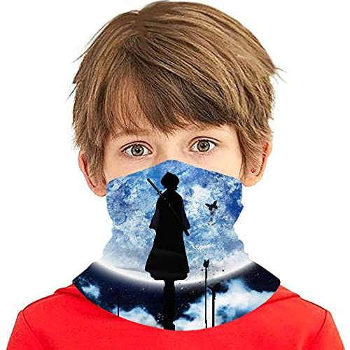 LAOLUCKY Bleach Rukia Planet - Polaina para cuello con 10 filtros de protección UV para la cara de seda de hielo, a prueba de viento, bandanas transpirables para deportes al aire libre uso diario