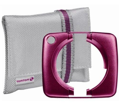 Tomtom - 9UA.001.07 beschermhoes met frontpaneel voor GPS start (product import) violet