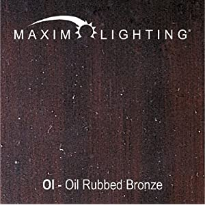 Maxim 7128OI Essentials 8-Light Bath Vanity in Oil Rubbed Bronze Finish – Metal Body, Damp Rated. Vanity Lights
