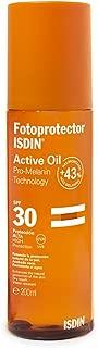 Isdin Fotoprotector Active Oil 30 SPF 30 | Aceite Protector para activación del bronceado 1 x 200ml