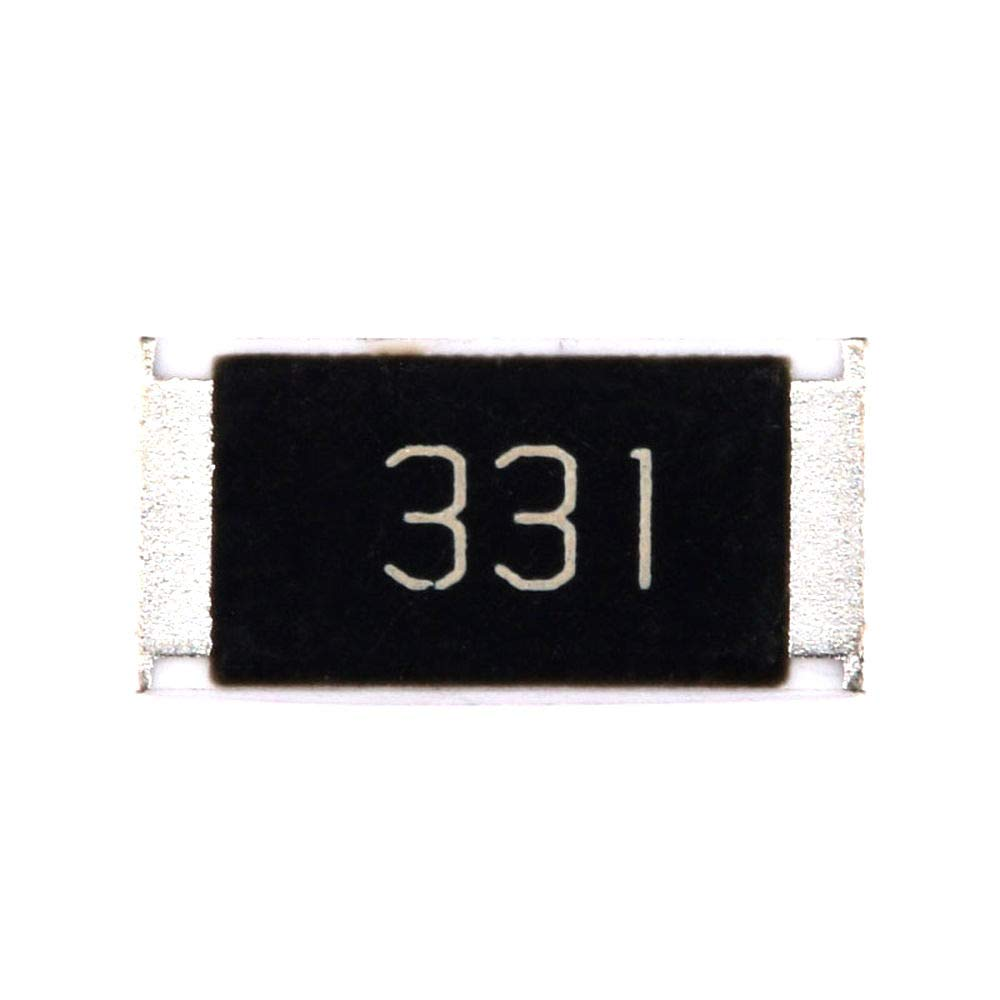 DIYElectronic 50 pcs Rare 2512 Excellent Chip Resistor SMD 1W 330 Resi 330R ohm