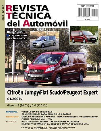 Documentación técnica RTA 187 CITROEN/FIAT/PEUGEOT JUMPY/SCUDO/EXPERT II (2007 -2016)