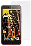 atFolix Panzerfolie kompatibel mit ZTE Blade L3 Schutzfolie, entspiegelnde & stoßdämpfende FX Folie (3X)