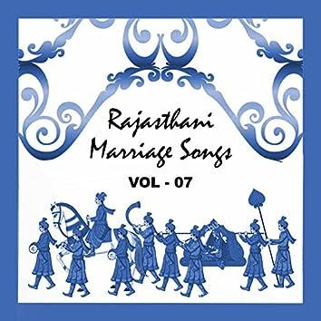Rajasthani Marriage Songs, Vol. 7