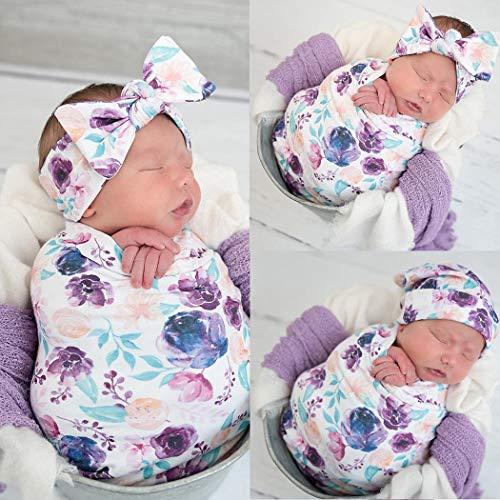Set neonato copertina e fascia