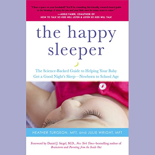 The Happy Sleeper audiobook cover art