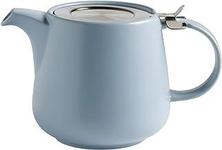 Maxwell & Williams AY0299 Tint dzbanek do herbaty z porcelany, jasnoniebieski, 1200 ml