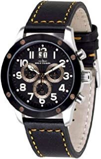 Zeno - Watch Reloj Mujer - Screws 5040 Cronógrafo Big Date - 9540Q-SBR-b1