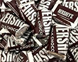 Hershey's Miniature Milk Chocolate Bars, Bulk Wholesale (3 Lbs.) Great for Gifts, Candy Bowls & Buffets, Movie & Game Nights, Lunches, Snacks & More!