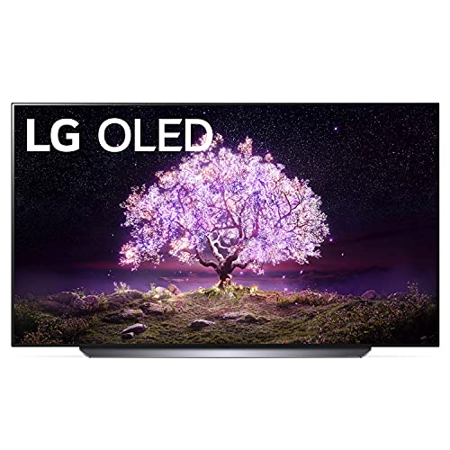 LG OLED77C1 C1 77 inch Class 4K Smart OLED TV w/AI ThinQ Bundle with 2 Year Warranty - LG Authorized Dealer