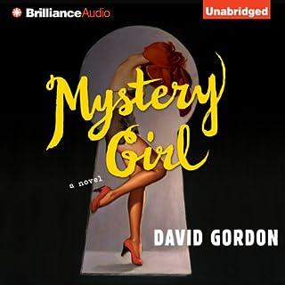 Mystery Girl audiobook cover art