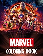 Marvel Coloring Book: Endgame | Avengers | Super Heroes | Spider Man | Hulk | Iron Man | Black Panther | Captain America | Thanos | Thor | Ant Man | All Heroes | Ages 3-10