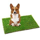 VerdeCasa Artificial Grass Doormat 17' x 29' Fake Grass Rug Door Mat for Entrance Pet Turf for Dogs