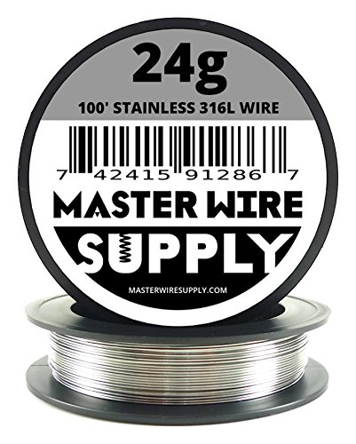Stainless Steel 316L - 100' - 24 Gauge Wire
