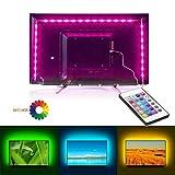 TV Led Hintergrundbeleuchtung, 6.6Ft SMD 5050 USB Musik Led Stripe Hintergrundbeleuchtung Fernseher USB mit Fernbedienung für 40 bis 60 Zoll HDTV, Led Beleuchtung TV