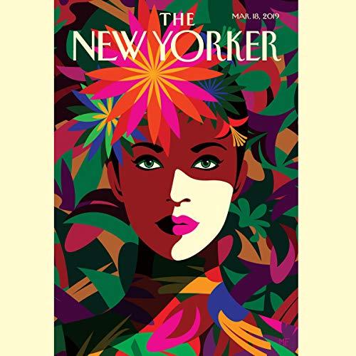 The New Yorker, March 18th 2019 (Jia Tolentino, Tyler Foggatt, Tad Friend) cover art
