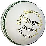 Kookaburra Kookaburra Cricket Ball - Gold King White KB201001W, White