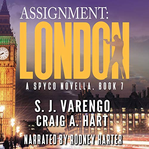Assignment: London audiobook cover art