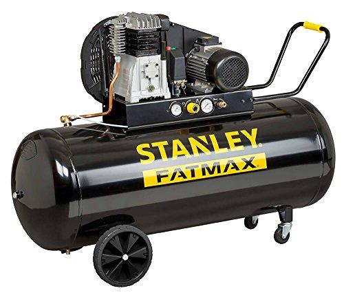 Compressore a Olio Trasmissione a Cinghia Monostadio 270L 4Hp Stanley B 480/10/270 T Professionale