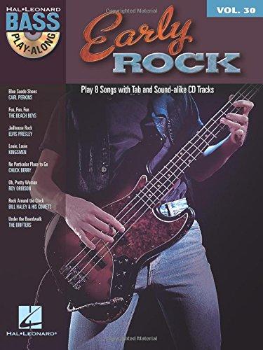 Bass Play-Along Volume 30: Early Rock: Play-Along, CD für Bass-Gitarre