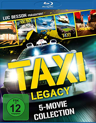 Taxi Legacy - 5-Movie Collection [Blu-ray]