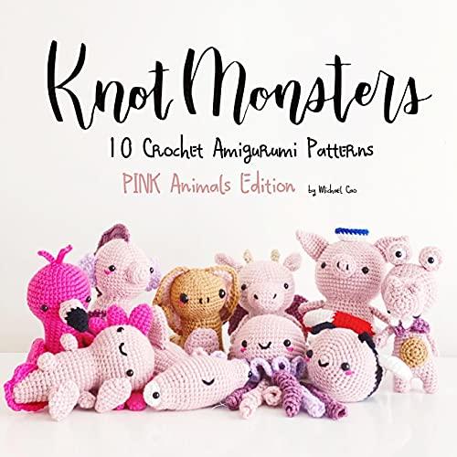 KnotMonsters: cute kawaii amigurumi crochet patterns pink edition