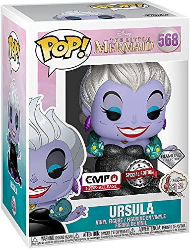 Arielle, die Meerjungfrau La Petite Sirène Disney Villains - Ursula (Édition Diamond) - Funko Pop! n°568 Unisexe Funko Pop! Standard