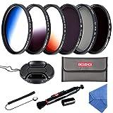 Beschoi Filtro Nd + CPL, Kit Filtri 11 Pcs Accessori per Canon Nikon Sony Pentax Sigma DSL...