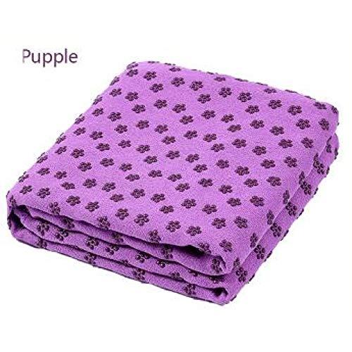 CWJCZY Non Slip Yoga Mat Cover Handdoek Anti Slip Microfiber Yoga Mat Maat 183 Cm * 61 Cm 72 ''X 24'' Winkel Handdoeken Pilates Dekens Fitness