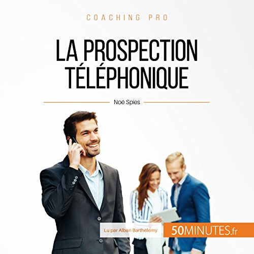 La prospection téléphonique audiobook cover art
