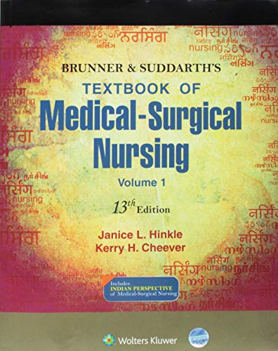 Brunner & Suddarth's Textbook of Medical-surgical Nursing, Vol-1