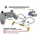 Manette PS4 Remap Board, Easy Remapper V1 Kit de bricolage soudé avec paddles en aluminium