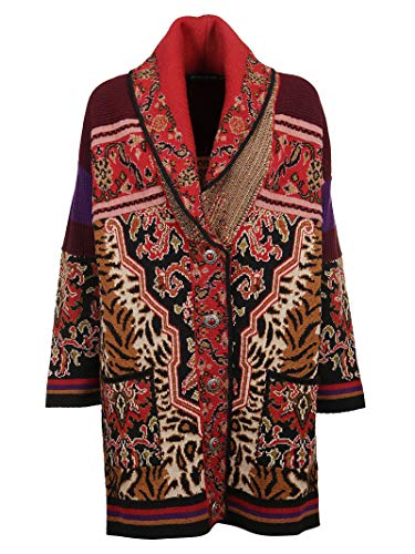 Etro Luxury Fashion Donna 1818891818000 Rosso Viscosa Cardigan |...